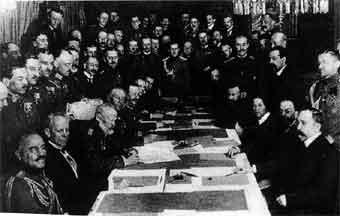 Resultado de imagen de la paz de brest litovsk