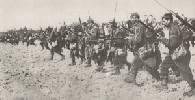 Carga a la bayoneta de soldados franceses. Ampliar imagen