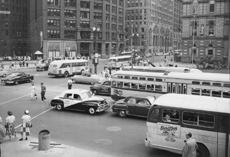 Detroit en los años 50