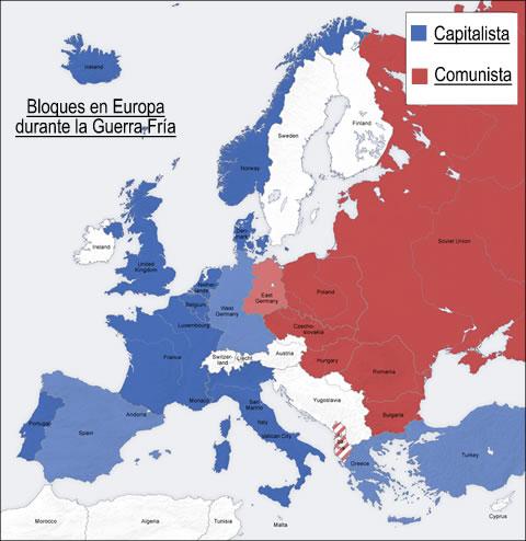 Bloques en Europa