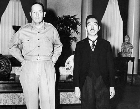 MacArthur e Hirohito