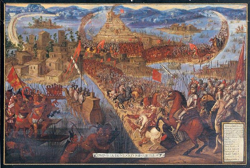 guerra en la nueva espana: