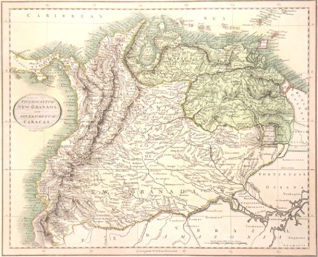 Mapa De Granada Espana