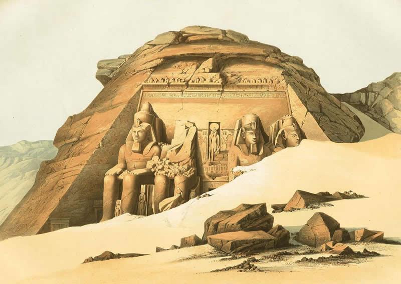 Arquitectura y dise o arquitectura egipcia for Arquitectura egipcia