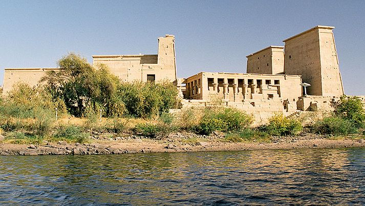 La arquitectura egipcia templos for Arquitectura egipcia