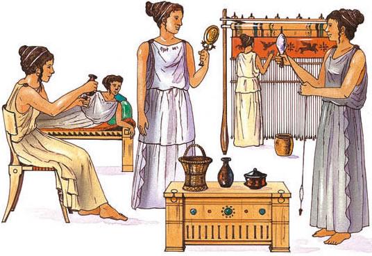 La sociedad griega Como eran las casas griegas