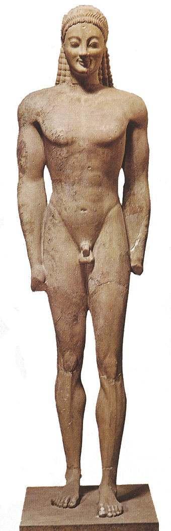 Resultado de imagen de escultura griega arcaica