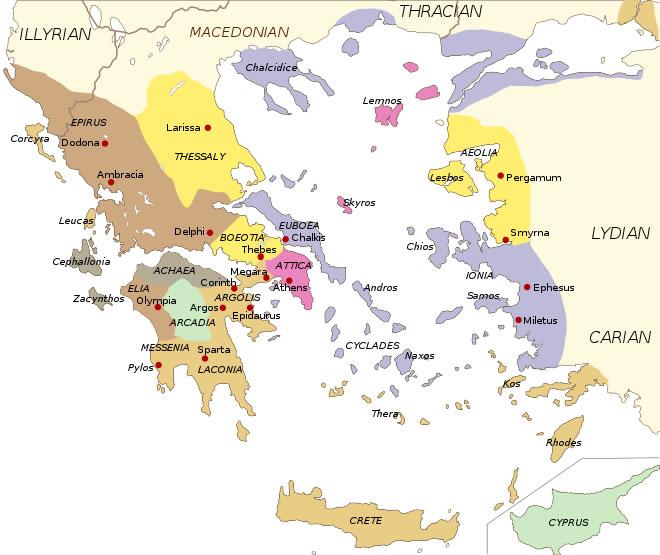 Grecia. Situación geográfica