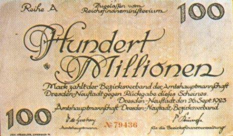 Resultat d'imatges de hiperinflacion años 20