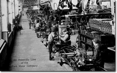 El per odo de entreguerras los felices a os veinte for Ford motor company usa