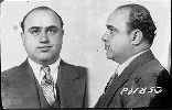 Ficha policial del ganster Al Capone. Ampliar imagen