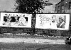 Valla publicitaria en una ciudad  norteamericana. Ampliar imagen
