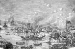 Los modernos buques británicos de metal destrozaron a la escuadra china compuesta por juncos