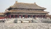 Palacio de la Ciudad Prohibida de Pekin, sede de los emperadores chino y símbolo de su poder. Ampliar imagen