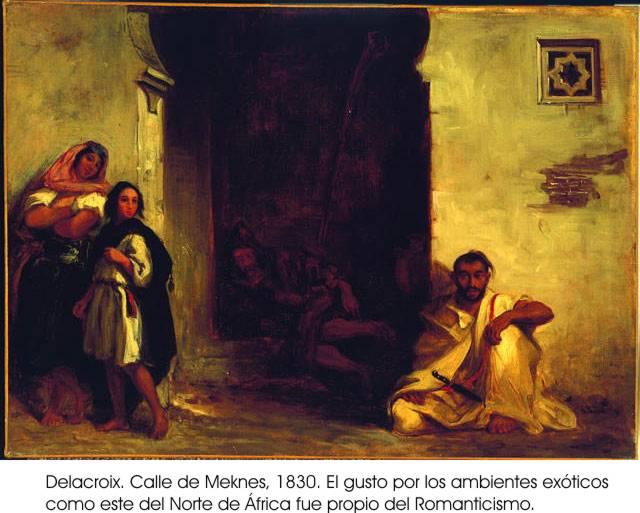 Historia del arte ii el romanticismo - Pintura instinto ...