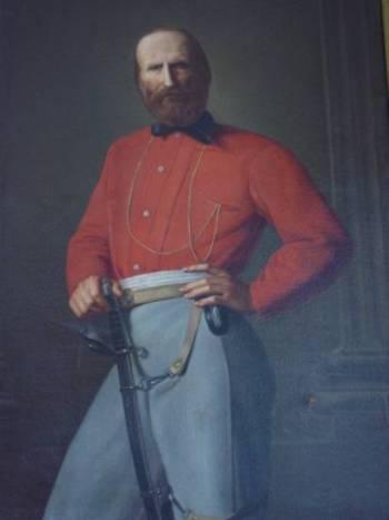 Giuseppe Garibaldi (Niza, 4 de julio de 1807 - Caprera, 2 de junio de 1882)