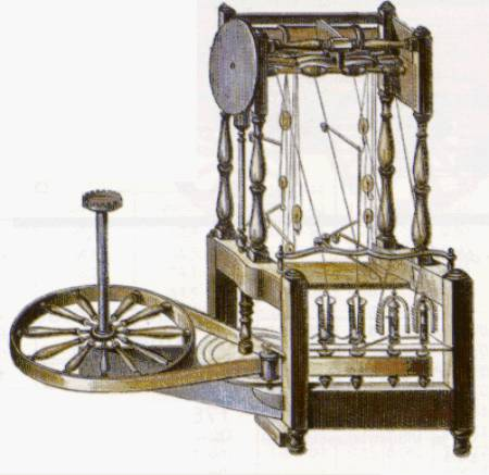 LA REVOLUCION INDUSTRIAL: Water Frame : La Nueva Máquina de Telar ...